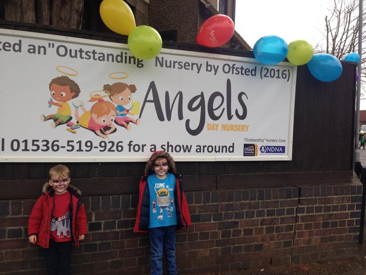 angels nursery christmas day
