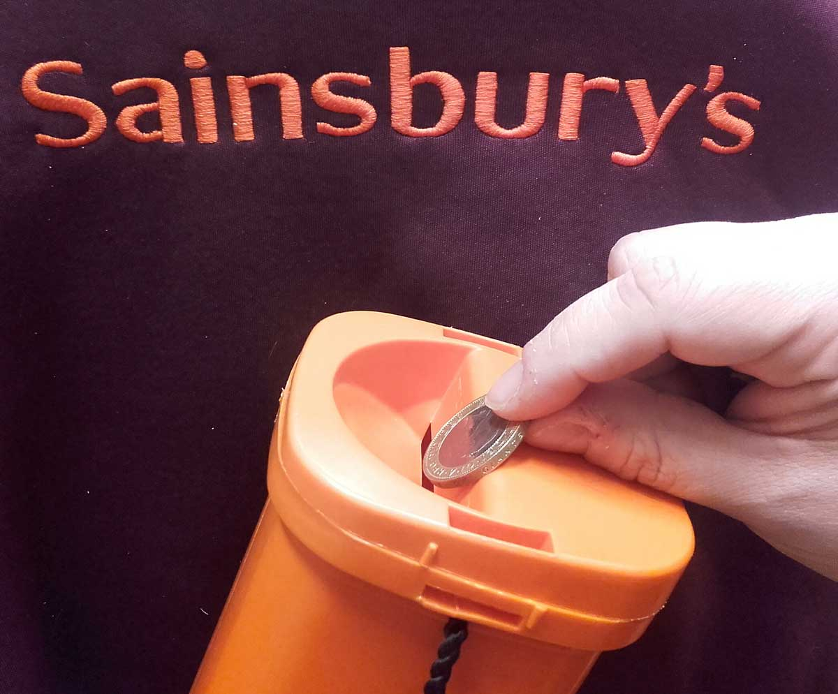 Sainsburys weedon road launches search for new local charity sainsbury charity hand falaconquin
