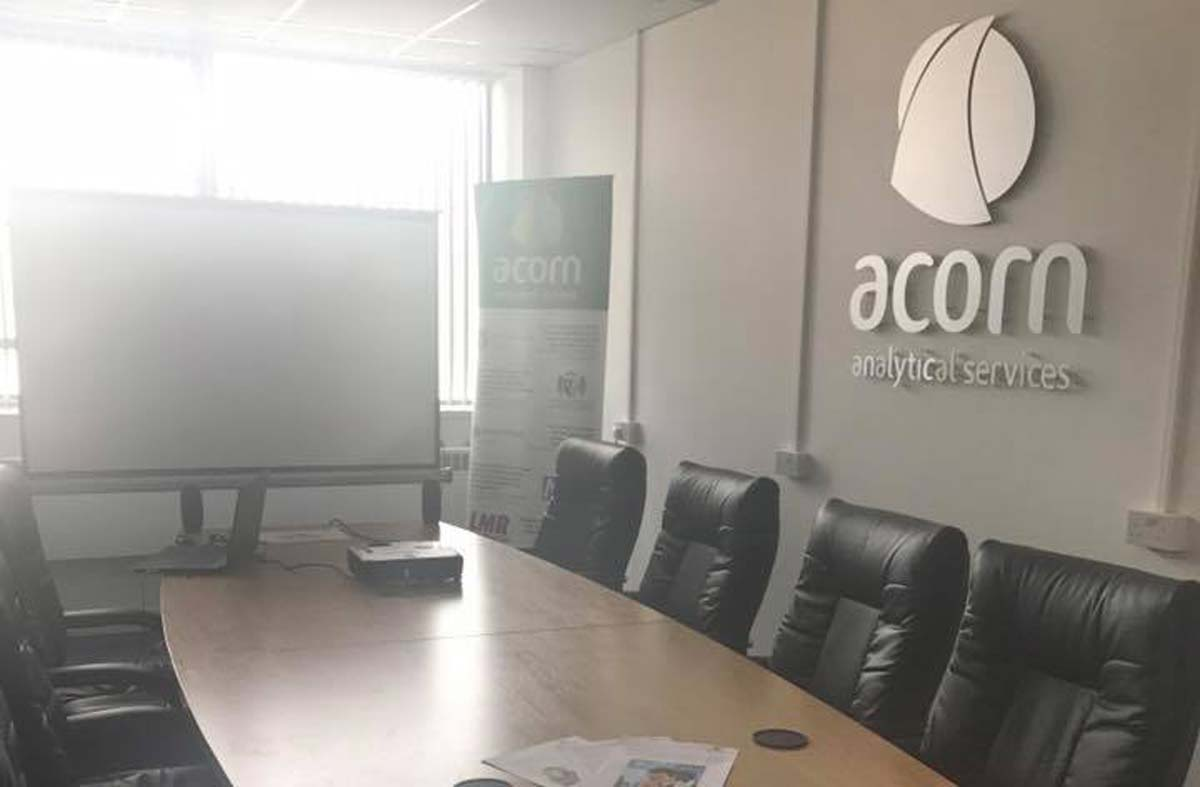 The Acorn Analytical Services office