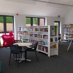 the library at the moulton community centre