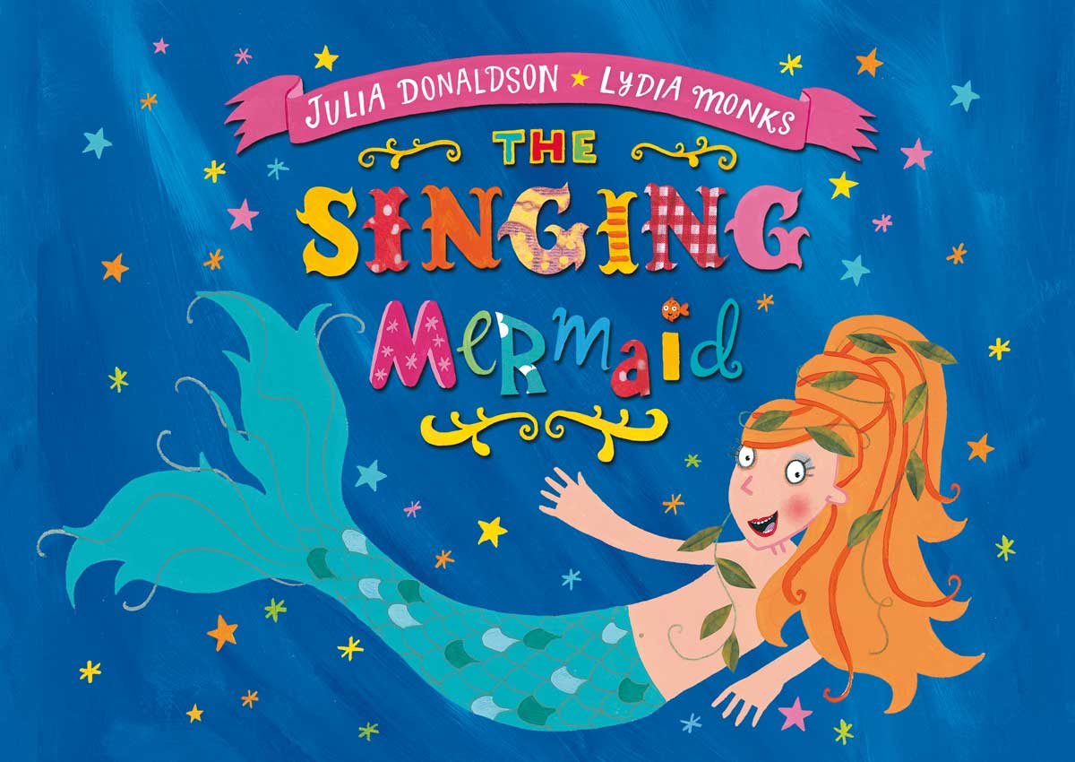 Popular Children S Book The Singing Mermaid Is Brought To Life On
