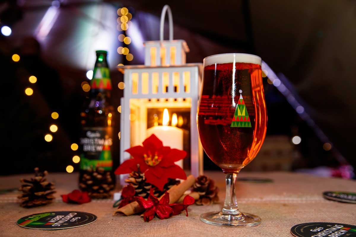 carlsberg christmas brew in northamptonshire