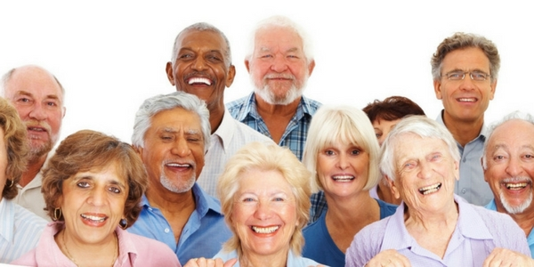 Older people stock image