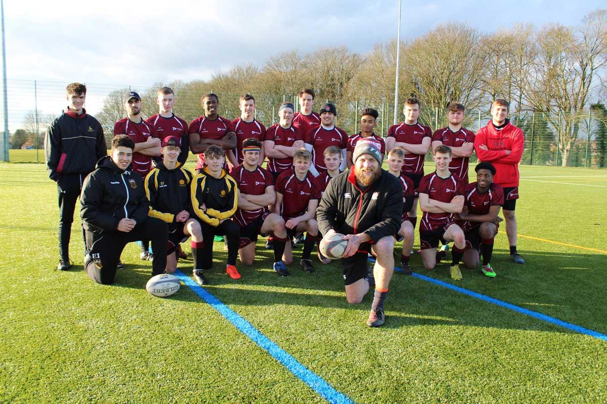 Rugby coach at tresham college