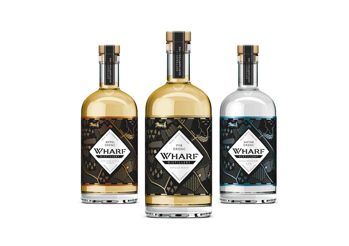image of the new wharf distillery gin