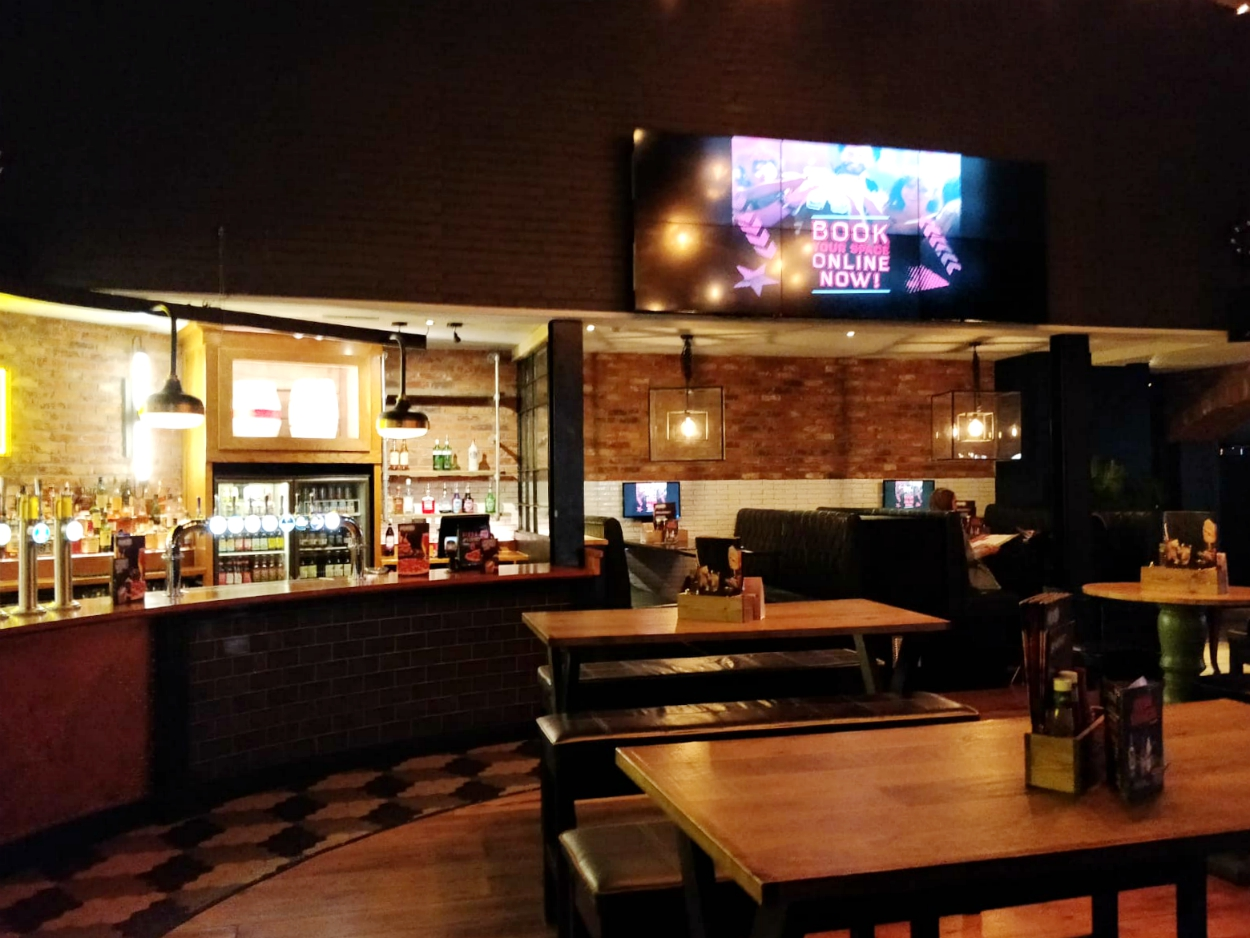 The Optimist Northampton Life Magazine restaurant inside reviews
