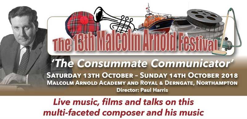 13th malcolm arnold festival