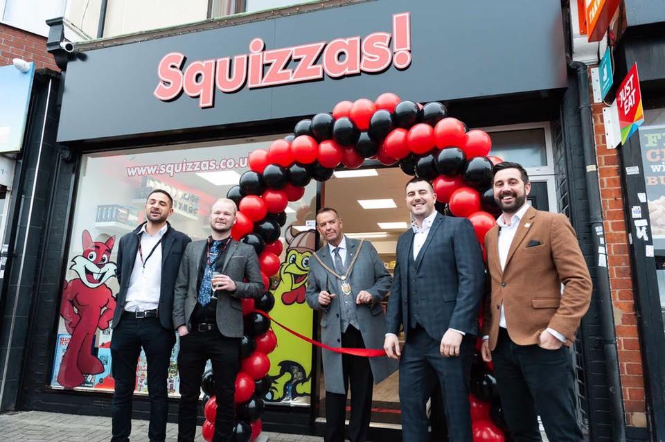 Squizzas Northampton new store launch Northampton Life
