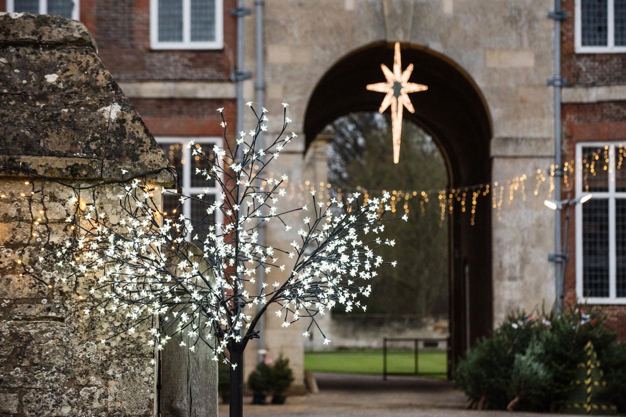 Boughton House Northamptonshire Christmas