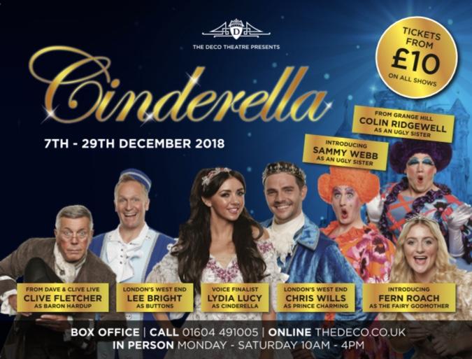 Cinderella at the Deco Theatre Northampton Life