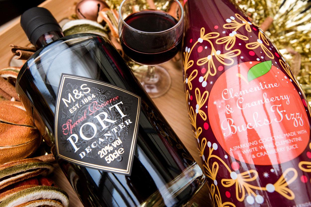 M&S Christmas 2018 Food and Drink Range review Northampton Life food reviews