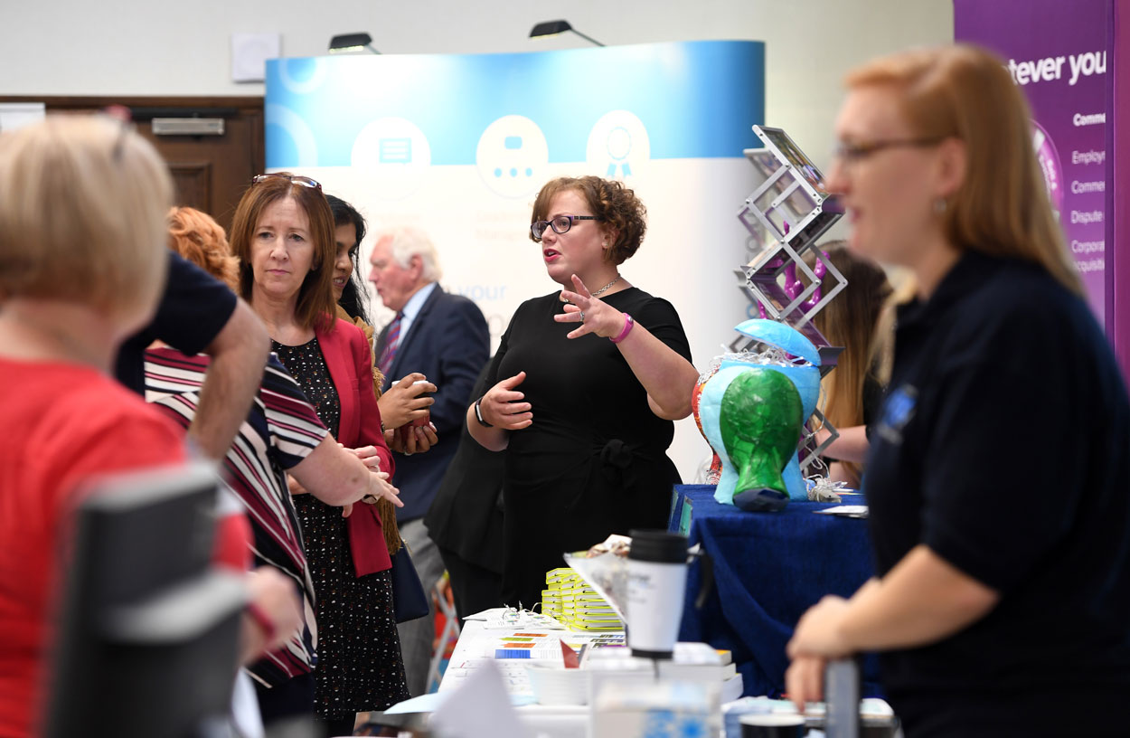 Exhibition Stand Northampton : Northamptonshire chamber of commerce announces its first business